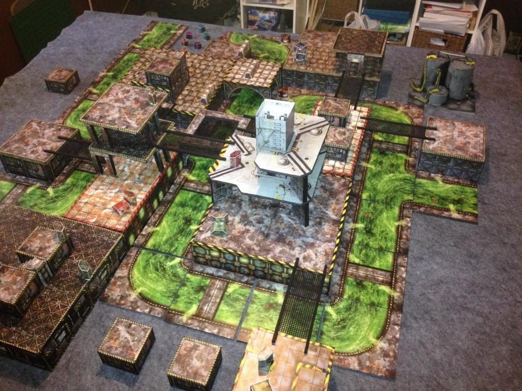 Necromunda - Blackivarr's Necromunda Terrain | YakTribe games