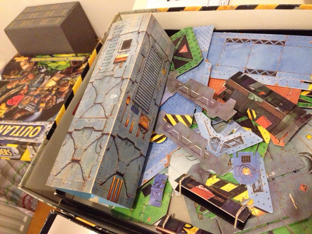Necromunda Card Terrain Templates | YakTribe games