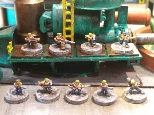 Orlocks finished