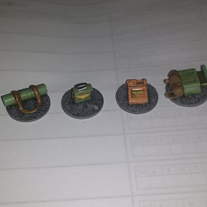 Objective counters (painted)
