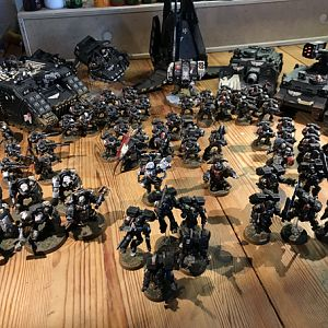 Another one of my old Raven Guard army