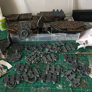So much magnetised platforms