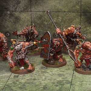 Gang of Skaven Rat Ogres