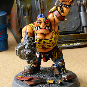 Massive Moira the Female Escher Ogryn - front