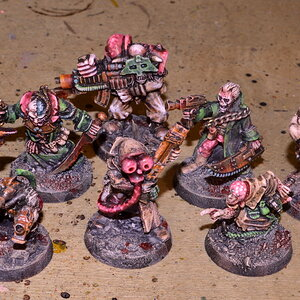 Pink & green underhive Scum gang (pt.3)