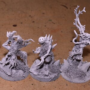 The current (august 14th) situation of my Sylvaneth army