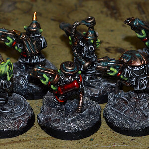 Grots painted