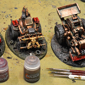 Buggies painting WIP