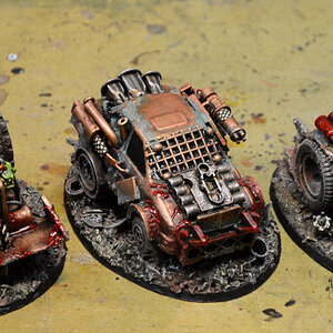 Buggies painted!