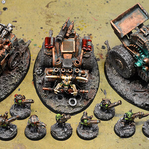 Buggies & Gretchin painted
