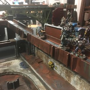 Necromunda Terrain YakDay London 2017 - Day One Saturday Terrain