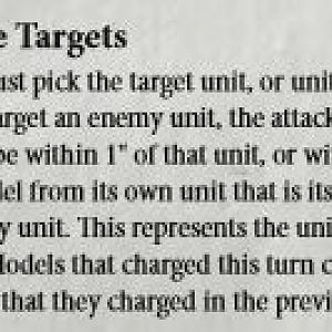 40k attacking rules