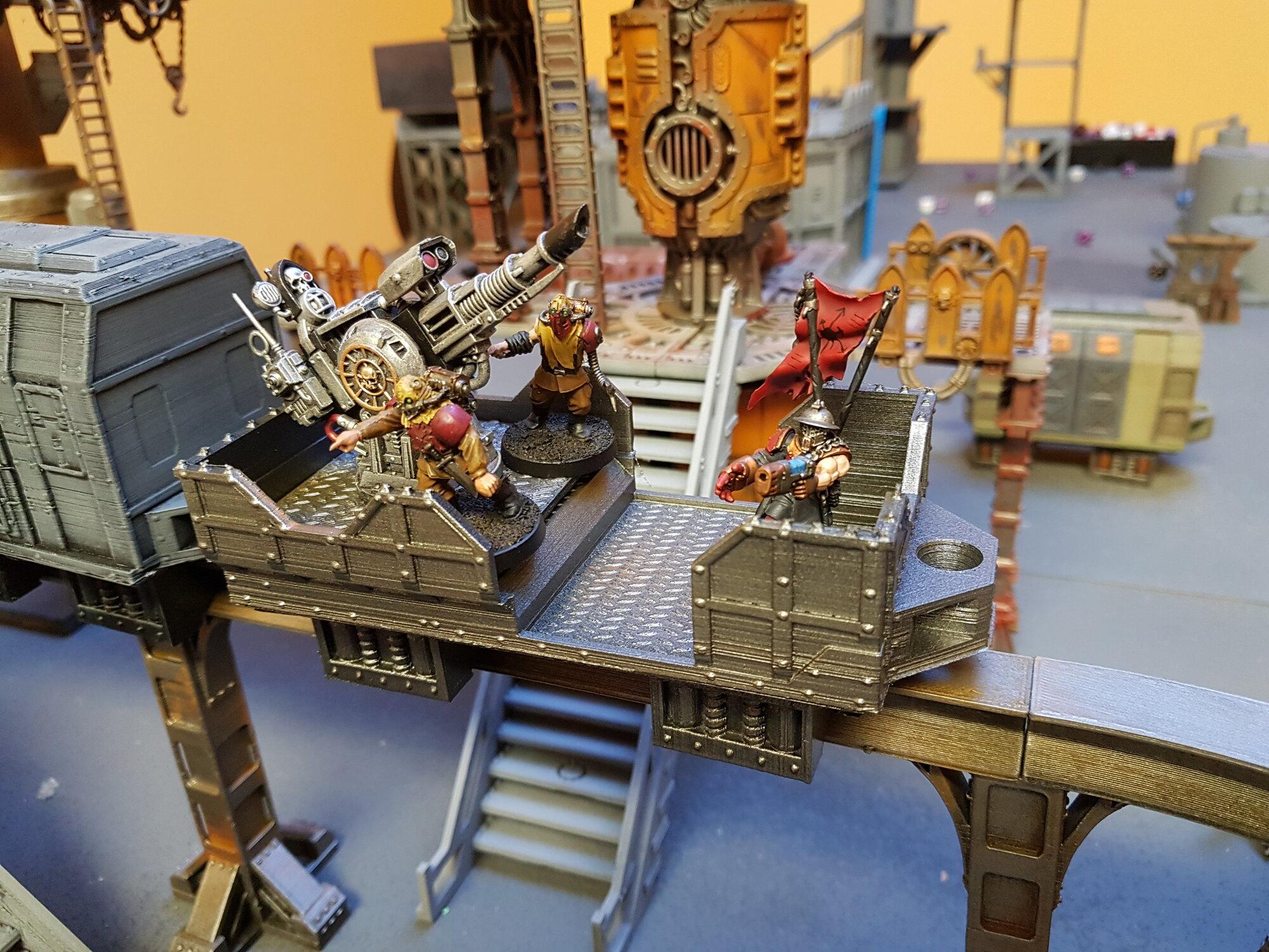firing platform warhammer 40k monorail | YakTribe games