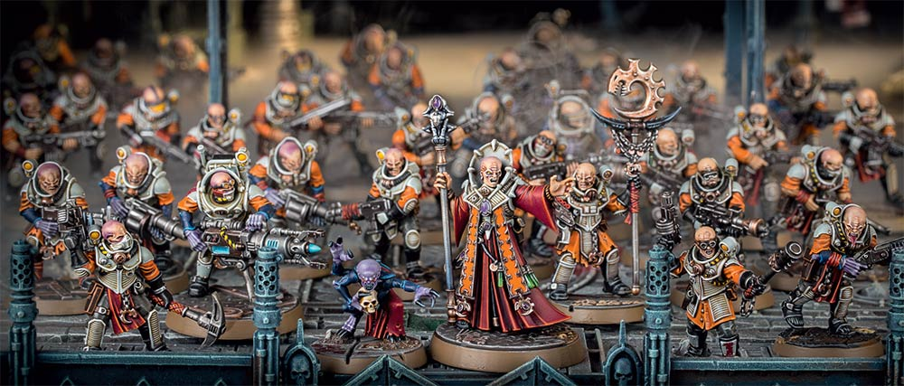 Genestealer Cult gang