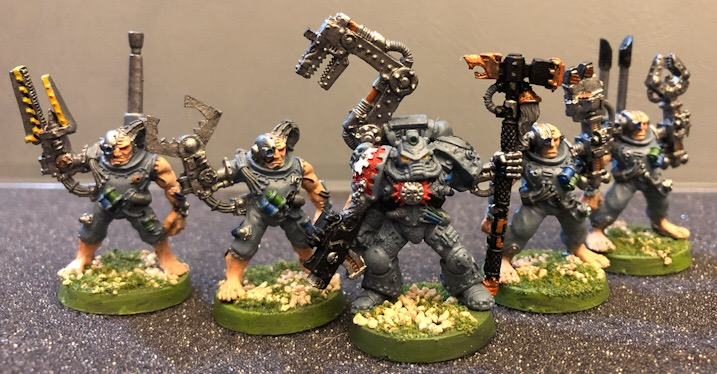 Iron Priest and Thralls
