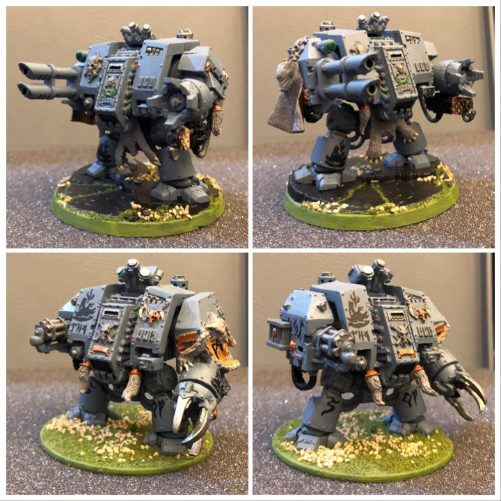 Space Wolves Dreadnaughts