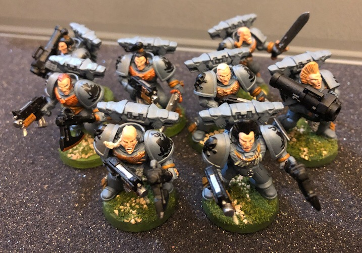 Wolf Guard Bodyguards